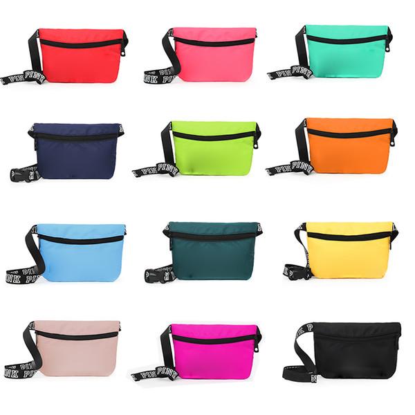 Lüks Pembe omuz çantası tasarımcı crossbody çanta 2019 ünlü marka kadın çanta ve çanta 13 renkler yeni stil