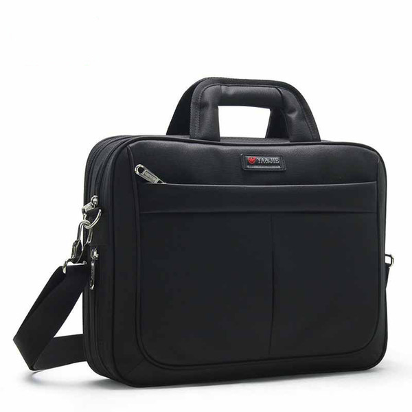 2019 New Arrival High Quality Business Man Briefcase Men Oxford Laptop Handbags Boy Large Capacity Waterproof Notebook File Bags Y190627