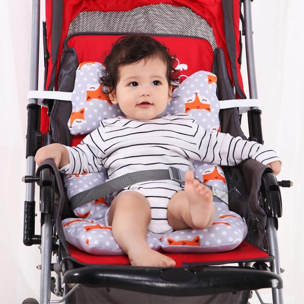 Cubierta de la manija de la carriola Almohadilla multiusos Lavado desmontable Carro de beb/é multifunci/ón Cochecito de beb/é Manga de la carriola
