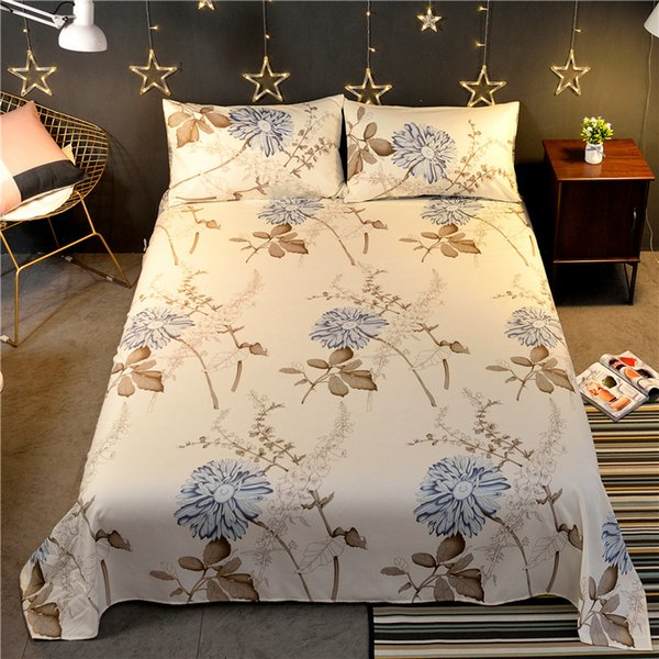 Bedcover cubrecama, bedspread bedclothes Sheets Single Student Dormitory Sheets 1.8 Meters Double Bed sheet