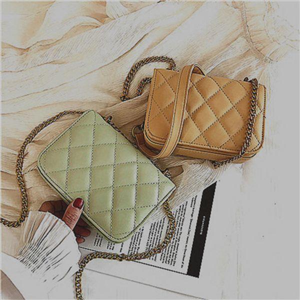 2019 лето новая маленькая женская сумка корейской версии g прилив дикий диагональный крест сумка плечо 5451254