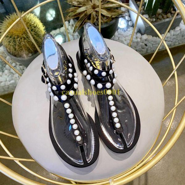 Hot 2019 Paris Sandálias Das Mulheres Tamanho Grande Sapato Designer de Luxo Flip Flops Sandálias Moda Verão Largo Escorregadio Plana Com Sandálias Chinelo Z001