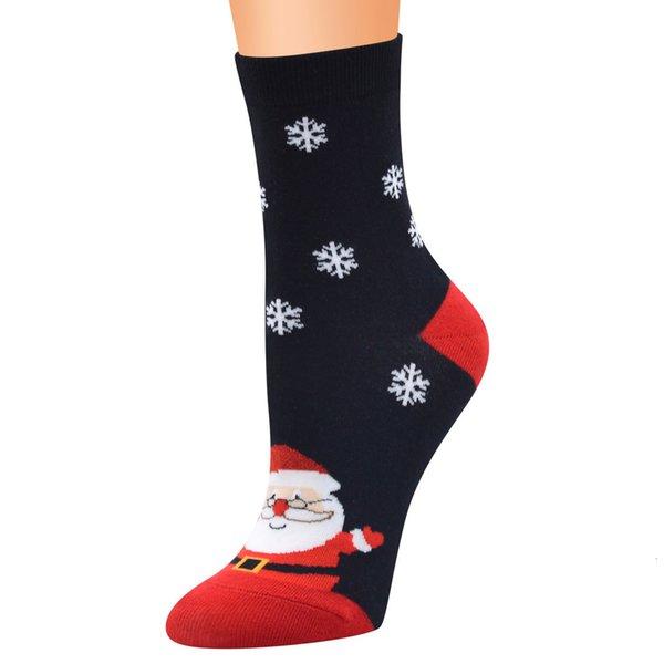 1 # Père Noël sur fond noir
