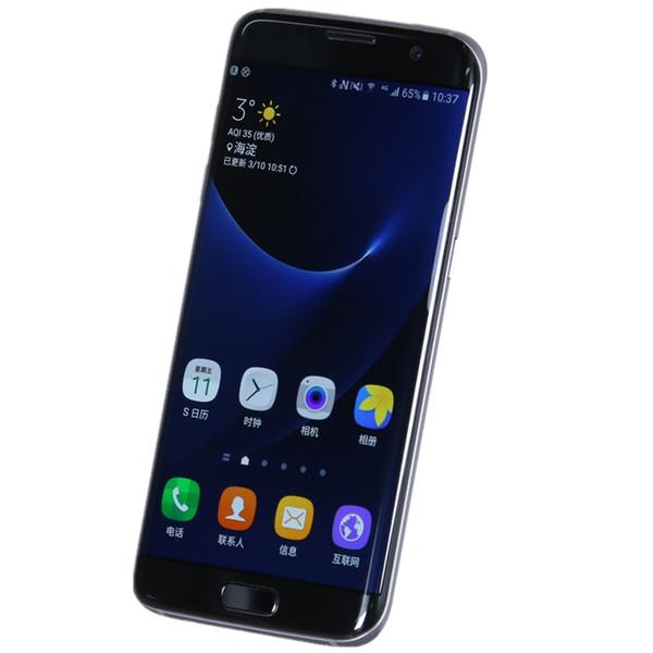 Оригинальный восстановленный телефон Samsung Galaxy S7 / s7 edge Octa Core Мобильный телефон 16 Мп Камера Android 6.0 4 ГБ / 32 ГБ