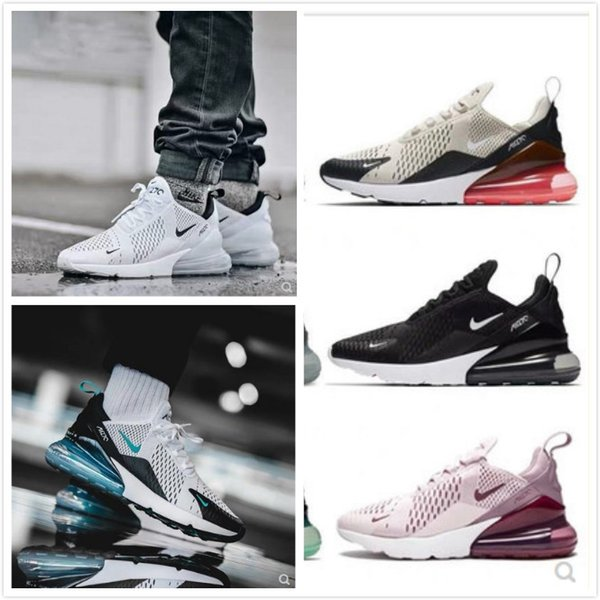 top popular New Athletic 270 3.0 Trainers Men Air BE Vapor Sneakers Male Walking Sports 270s Black White 27c Max 2018 Women Running Shoes 2020