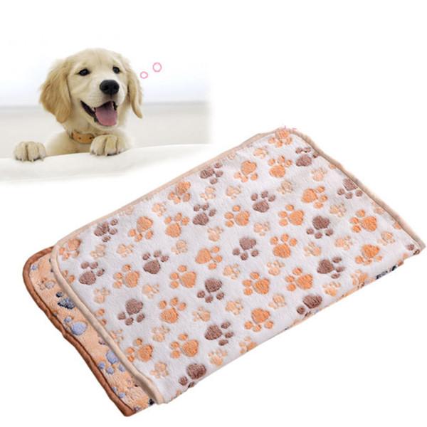 Coral Fleece Pet Dog Cat Blanket Towel Pet Dirty Paw Carpet High Suction Towel Dog Drying Microfiber Absorbent Towel 60x40cm