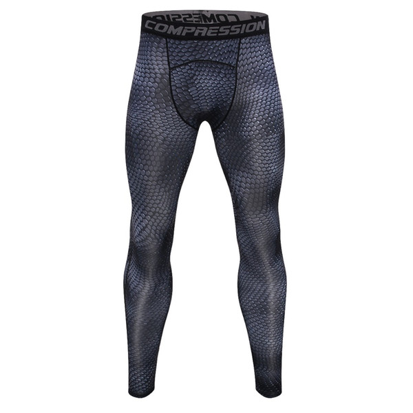 Brand MMA Tights Men Leggings Sportswear Long Trousers Pant Fitness Compression Sexy Slim
