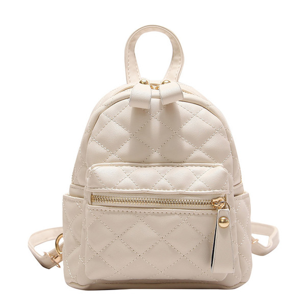 Mini Women PU Leather Backpacks Fashion Small Korean Style Shoulder Bag Laptop Backpack School Bags for Teenager girls mochilas