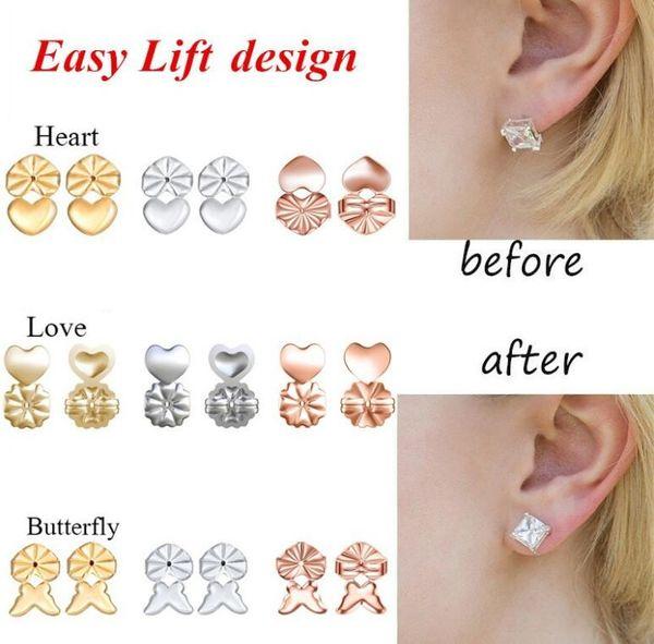 Nueva moda Magic Bax Earring Backs Pendientes para pendientes Pendientes Se adapta a todos los postes Magic Bax Earring Back Magic Earrings Button