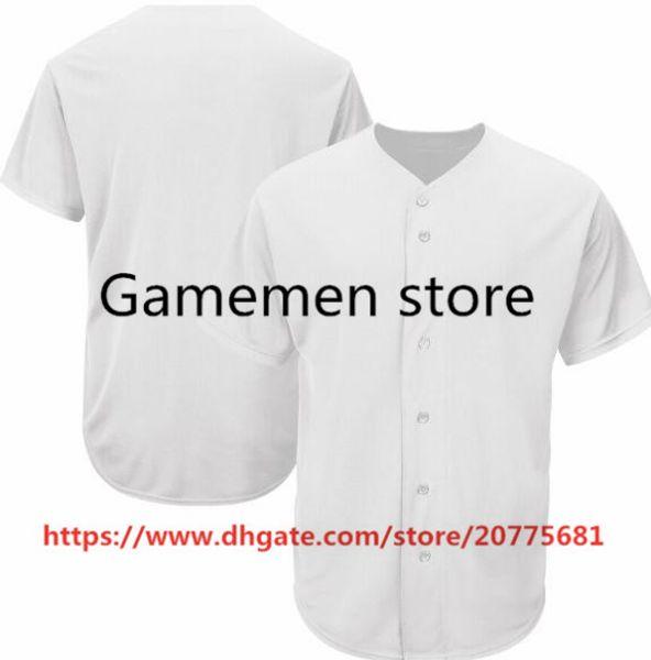 Gamemen mağaza BJ23 Beyzbol Formalar Erkekler Kadınlar Gençlik Kid Yetişkin Lady Herhangi Kendi İsim Numara S-4XL Dikişli kişiselleştirilmiştir
