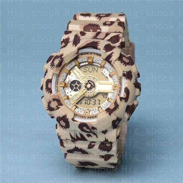 #4 Leopard print gold
