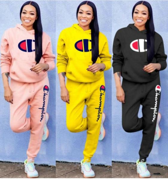горячие женские 2 шт набор брюки рубашка с длинным рукавом нарядах спортивная рубашка брюки Sweatsuit пуловеры колготок спортивной одежды 13268