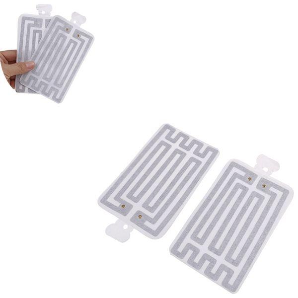 Electric USB Gloves Heater Heated Gloves 5V USB Heated Pad luva calefaccion guantes Carbon Fiber Cloth 8*13CM