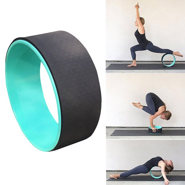 Pilates Circle Roller Ring Body-shaping Stretch Exercise Yoga Wheel Fitness Workout Back Bend  Training