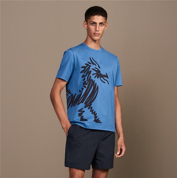 Erkek Tasarımcı T Gömlek lüks Erkek Moda Tasarımcısı T Shirt En Kısa Kollu S-XXL