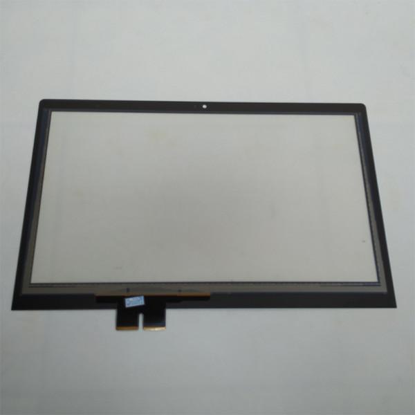 Ücretsiz kargo!!! 1 ADET Yeni Laptop Lenovo Flex 2 14 Için Dokunmatik Ekran LCD Digitizer Siyah