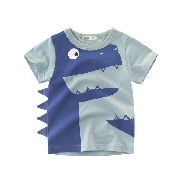 Kids Short Sleeve T-shirts For Boys & Girls Cotton Tops Tees Children Summer Clothing Cartoon T Shirt For Boys 2-8