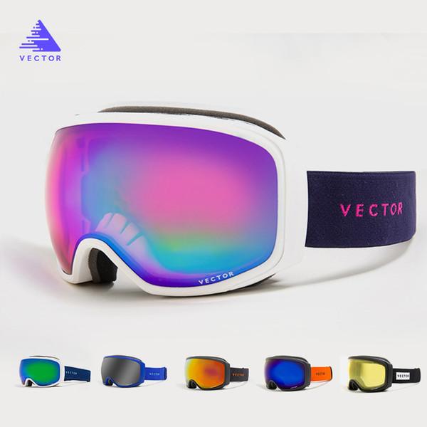 Professional Ski Goggles Snowboard 2019 New Men Women Double Layers UV400 Anti-fog Winter Sport Skiing GlassesMask Skate Eyewear