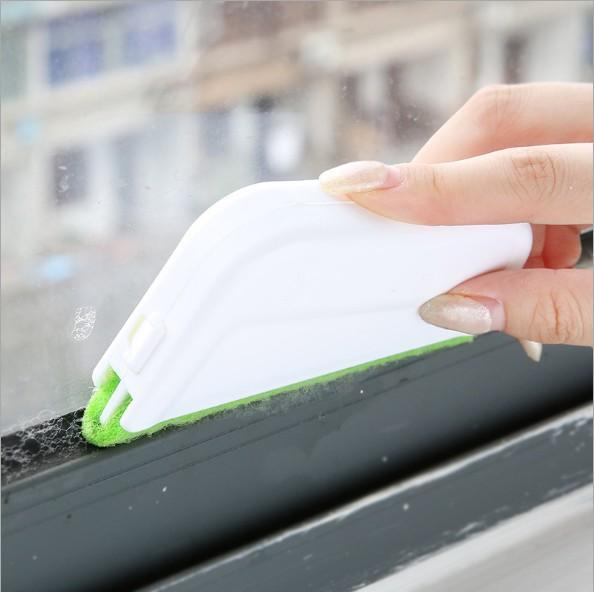 top popular Window Groove Cleaning Brush Window Groove CleaningTools Sweep Windows And Doors Groove Small Brush Corner Gap Brush 2021