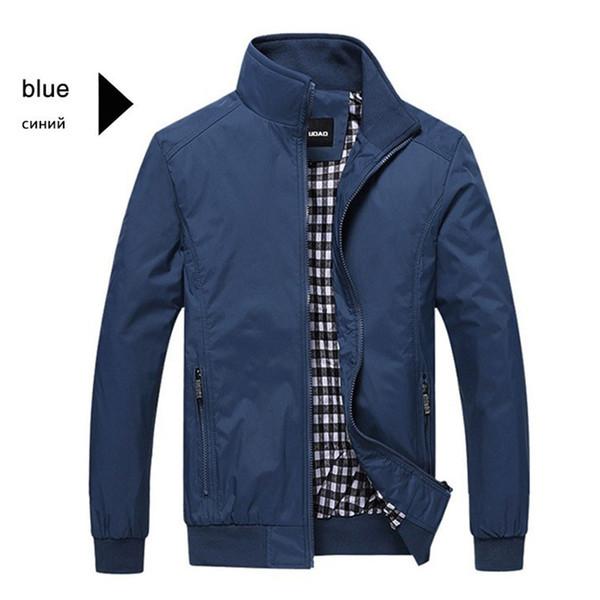 Nova Jaqueta Homens Moda Casual Solto Mens Jaqueta Sportswear Bomber Mens jaquetas e Casacos Masculinos Plus Size M-5XL