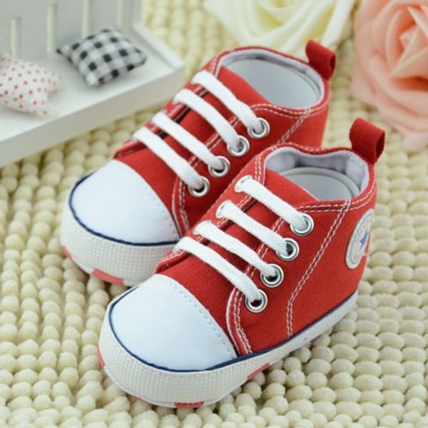 IENENS Newborn Toddler Infant Soft First Walkers Baby Shoes Boy Casual Shoe Girl Canvas Shoes