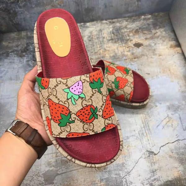ÜCRETSİZ KARGO Marka Terlik Kalite Sandalet Tasarımcı Ayakkabı Slaytlar AyaklıGucci Flop'lar Erkek Kadın Loafers Huaraches Sneakers Eğitmenler B2
