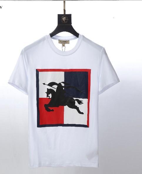 NASA x Heron Preston T-Shirt Herren Sommer Kurzarm T-Shirts Emboridered Crewneck Casual Tops 2 Colors11119