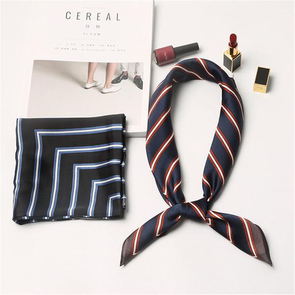Модный дизайн в полоску женский шарф личность уличный стиль женщины бренд аксессуары одежды подарок на день рождения девушки шарм шарфы