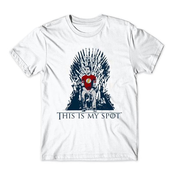 2018 Die Theorie-T-Shirt Dieses ist mein Punkt Game of Thrones Männer Hemden Freizeit Sheldon T-Shirts Street