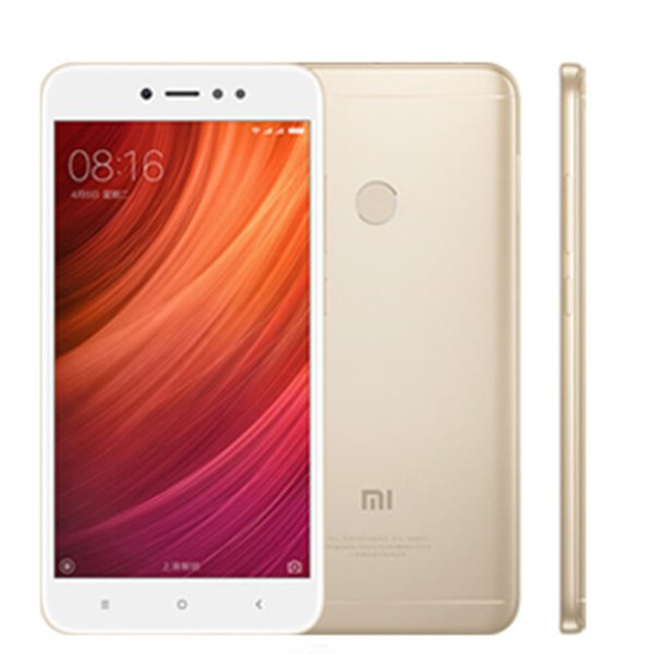 Original Refurbished 5.5inch Xiaomi Redmi Note 5A 64GB ROM 4GB RAM Cell Phone Snapdragon 435 Octa Core 16MP Camera Fingerprint phone