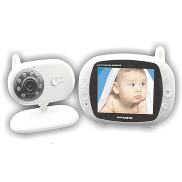 sicurezza domestica sistema di videosorveglianza 3,5 pollici baby monitor wireless digitale con musica di controllo della temperatura e Talkback
