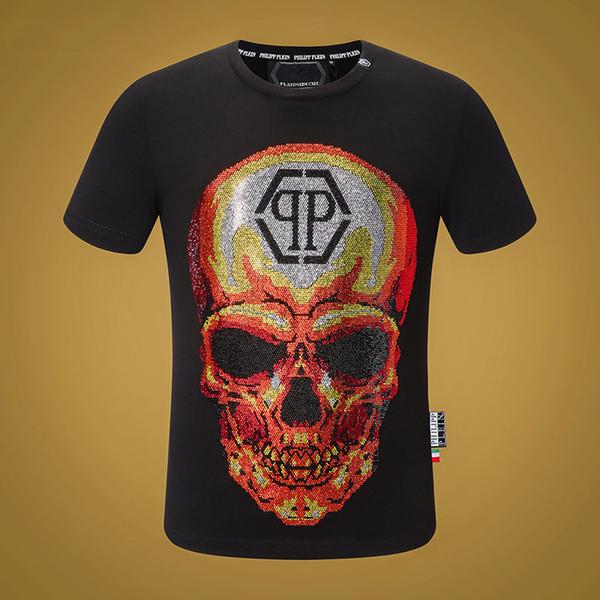 2019 Männer Shirts neue Art und Weise T-Shirt mit Marken Brief Print Modedesigner Top Tees Short Sleeve Casual T-Shirt