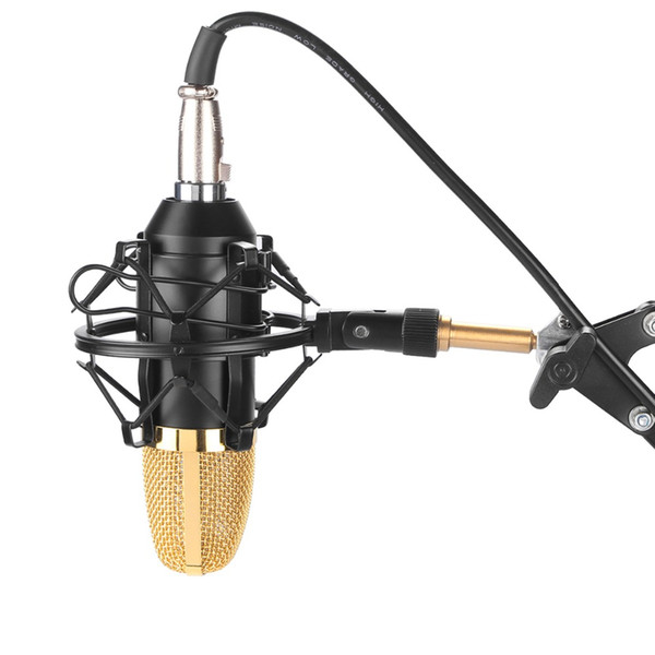 Fifine Broadcast recording microphone With Shock Mount For Radio Braodcasting Singing Recording studios stage performances 700