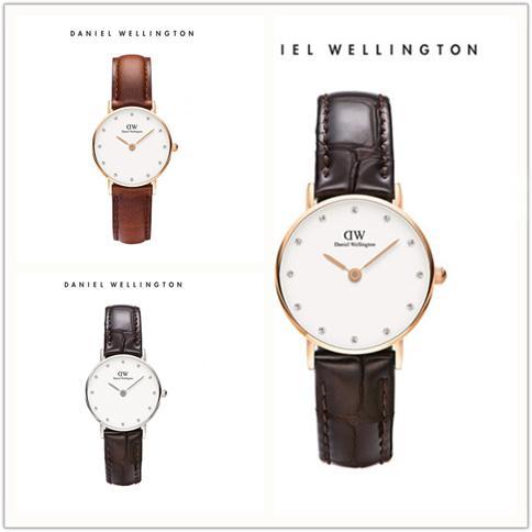 ad08ee1a079d Moda de cuero para hombre para mujer Daniel Wellington 34mm Hombres relojes  de nylon blanco Relojes