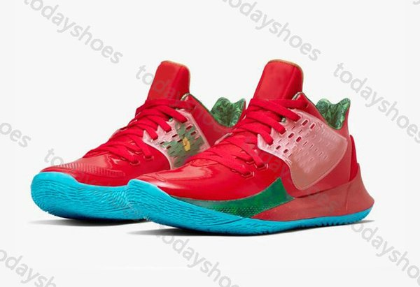 MR. Krabs Kyrie 2 Low Sandy Cheeks Kyrie 5 Patrick Squidward Mountain Sponge Basketball Shoes Star Sport Sneakers With Box Size 36-46