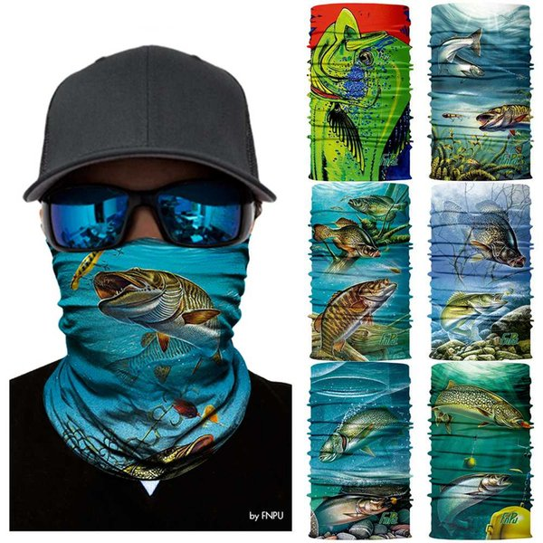 3D Quick Dry Scarf Cycling Bandana ciclismo Bicycle Fishing scarf Neck Warmer Face Mask Head Shield Headband Headwear For Men