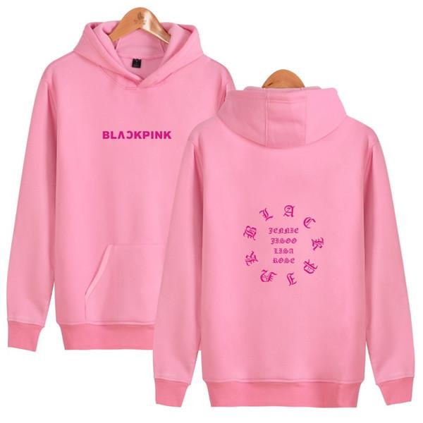2019 Korean Fashion BLACK PINK Hoodies Sweatshirts Women Men Clothes  Blackpink Album Pullover Designer Hoodie Sweatshirt From Superstore99,  $15 65 |