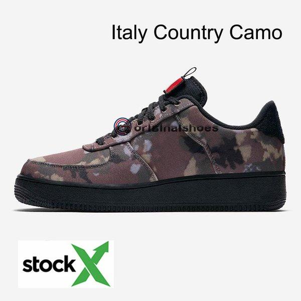 İtalya Ülke Camo