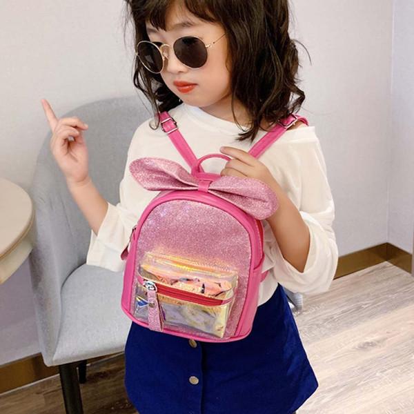 xiniu niñas de mini mochila Nuevos brillantes lindas bolsas de la escuela de moda de cuero mochila pequeña para niños para las niñas adolescentes # 0809