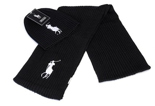 cappelli lavorati a maglia delle donne degli uomini autunno e in inverno sci caldo caps sciarpa calda Beanie