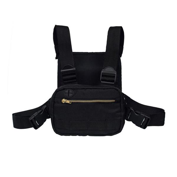 Kısa Erkekler Göğüs Rig Streetwear Doğa Sporları Bel Çantaları Tırmanma Omuz Çantaları Telefon Para Kemer Taktik Göğüs