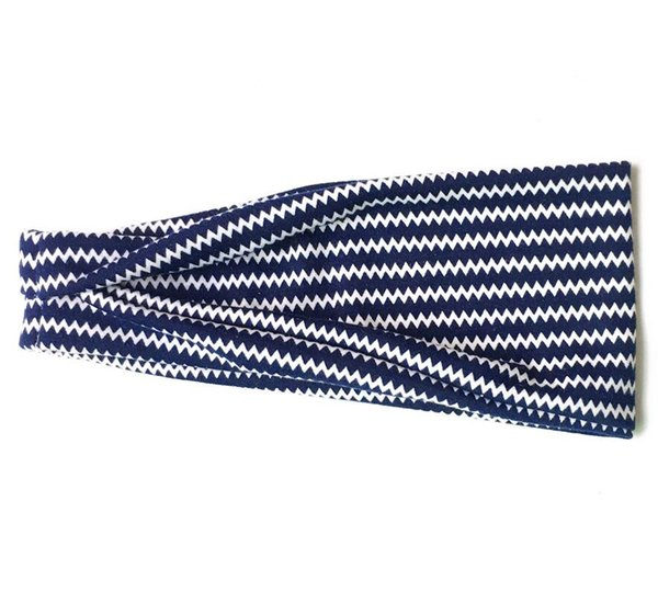 Dark Blue Wave Pattern