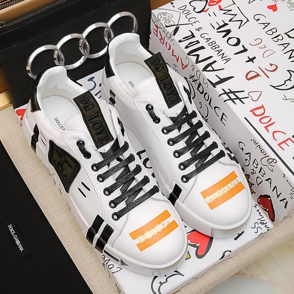 Yeni yüksek kalite üst İtalyan high-end erkek spor ayakkabı, eğitim ayakkabı rahat ayakkabılar tasarım, orijinal packag ile yüksek kalite Lok Fu ayakkabı