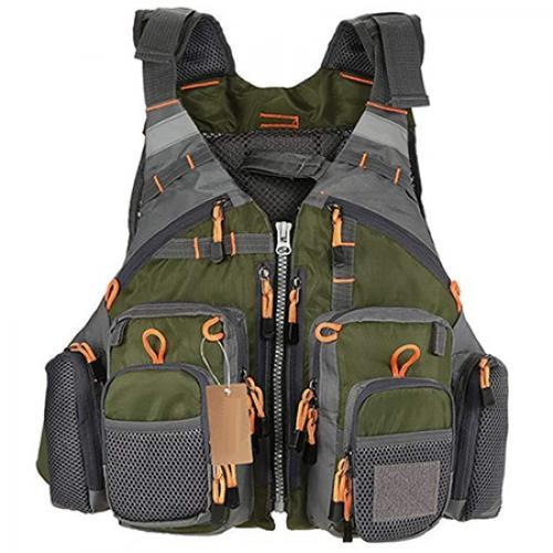 Outdoor Sport Fishing Life Vest jacket Men Breathable Swimming Life Jacket Safety Waistcoat Survival Utility Vest Colete Salva-Vidas