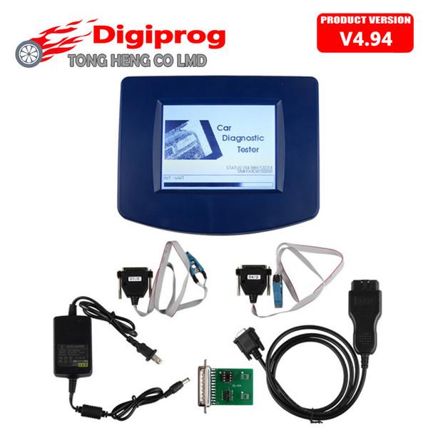 DHL Free DIGIPROG III 3 obd versión V4.94 + OBD2 ST01 ST04 Cable Digiprog3 II con software completo DP3