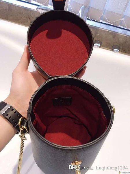 Original Handbag Hand Shoulder Shoulder His Little Round Package Art Restore Ancient Ways Borsa in pelle per donna