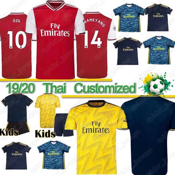 Camiseta de fútbol Thai AR TOP 19 20 NICOLAS CEBALLOS HENRY GUENDOUZI SOKRATIS MAITLAND-NILES MAVROPANOS 2019 2020 camiseta de fútbol Hombre + Niños