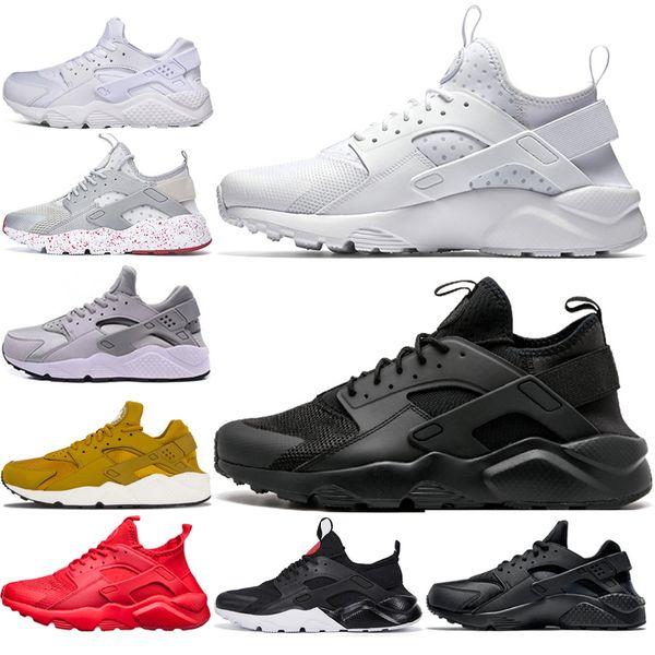 nike air huarache huaraches Nuevo Color Huarache 4.0 Custom Running Shoes For Men rojo negro blanco Air Huaraches Sneakers Diseñador de la marca Moda Entrenadores