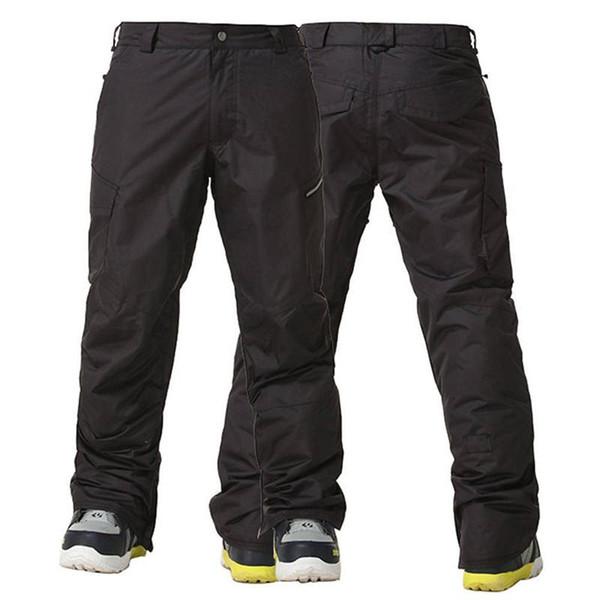 Gros- Gsou Neige -30 Degrés Ski Pantalon Hommes Hiver Thermique Respirant Snowboard Pantalon Imperméable 10000mm En Plein Air Neige Pantalon