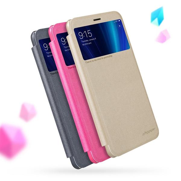 For Xiaomi mi 6x case 5.99 inch NILLKIN Sparkle Flip cover smart wake up view window PC cover for xiaomi mi a2 case for mi6x